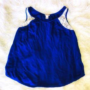 Mossimo Cobalt blue  tank top
